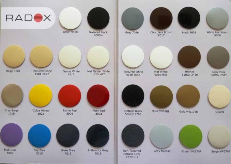 Elementi aluminiu colorati Global Oscar Tondo H1800