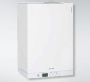 poza Centrala termica condensatie Viessmann Vitodens 111-W 35 KW cu boiler 46 l