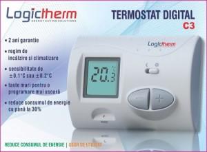 poza Termostat de ambient Logictherm C 3