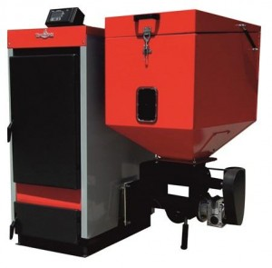 poza Cazan mixt biomasa/peleti/lemn Thermostahl Ecobio 30KW