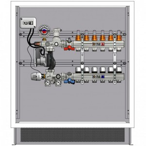 poza Pachet complet sistem incalzire in pardoseala IVAR - 100mp pe un nivel