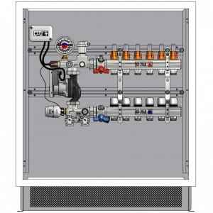 poza Pachet complet sistem incalzire in pardoseala IVAR - 100mp pe doua nivele