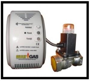 poza Detector gaz cu electrovana 3/4 SICURGAS